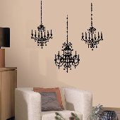 Chandelier Self-Stick Home Wall Art SALE