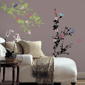 Cherry Blossom Self-Stick Home Wall Art