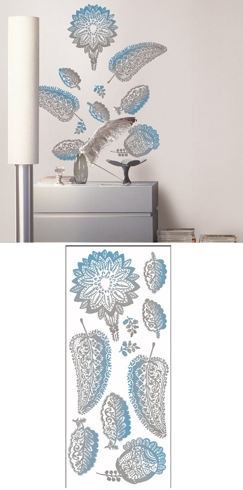 WallCandy Arts Peel  Stick Wall Decals - Removable, Rearrangable