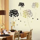 Floradelic Self-Stick Home Wall Art