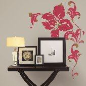 Flower Power Self-Stick Home Wall Art