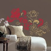 Guilded Rose Self-Stick Home Wall Art SALE