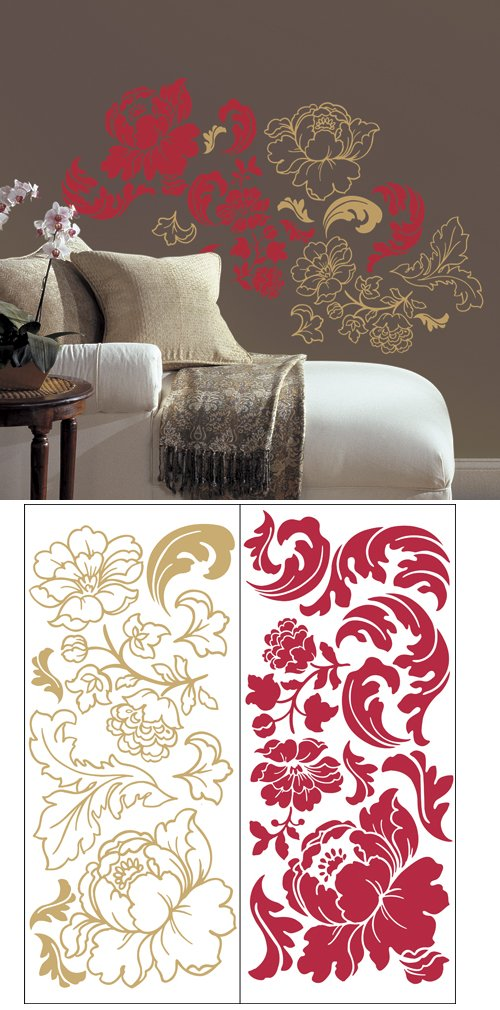 Guilded Rose Self Stick Home Wall Art Sale