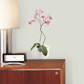 Orchid Self-Stick Home Wall Art