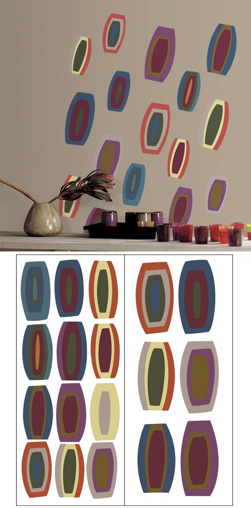 Oval Time Self-Stick Home Wall Art SALE - Wall Sticker Outlet