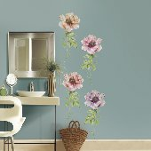 Poppies Self-Stick Home Wall Art