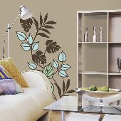 Tropicana Self-Stick Home Wall Art