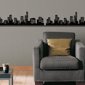 Urbanscape Self-Stick Home Wall Art