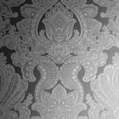 Graham and Brown Souk Damask Onyx Wallpaper