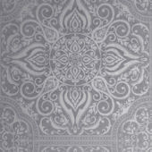 Graham and Brown Souk Tile Pewter Wallpaper