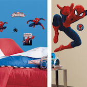 Ultimate SpiderMan Giant Decal Room Package