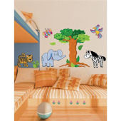 Jungle Peel and Stick Wall Stickers