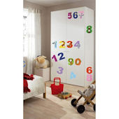 Numbers Peel and Stick Wall Stickers
