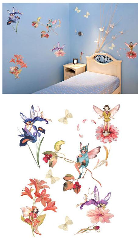 Fairies Peel And Stick Wall Stickers