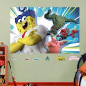 Fathead SpongeBob Movie Wall Mural