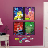 Fathead SpongeBob Movie Portraits Wall Decals