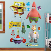 Fathead SpongeBob Movie Peel and Stick Collection