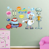 Fathead SpongeBob Friends Wall Decals