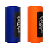 Simple Stripes Dark Blue and Orange Color Bands