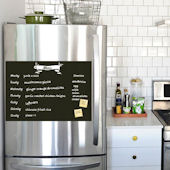 Meal Planner Chalkboard Decal