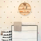 Small Hearts Peel And Stick Wall Decals
