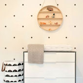 Small Polka Dots Peel And Stick Wall Decals
