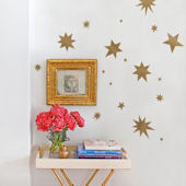 Spontaneous Stars Peel And Stick Wall Decals