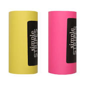 Simple Stripes Yellow and Dark Pink Color Bands