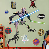 Fathead General Grievous Wall Graphic