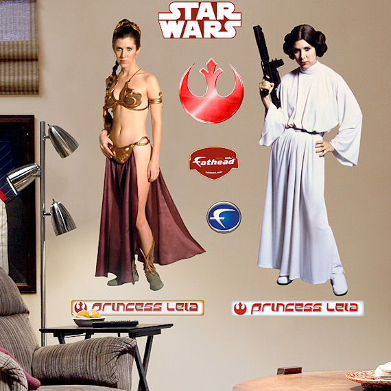 Fathead Princess Leia Wall Graphic - Kids Wall Decor Store