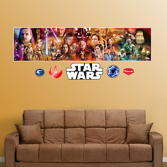 Fathead Star Wars Movie Mural Graphic - Wall Sticker Outlet