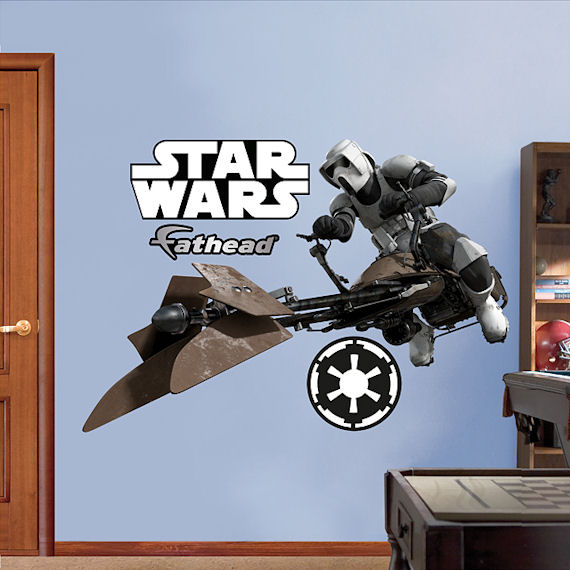 Fathead Scout Trooper Wall Graphic - Kids Wall Decor Store