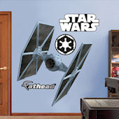 Fathead Tie Fighter Wall Graphic