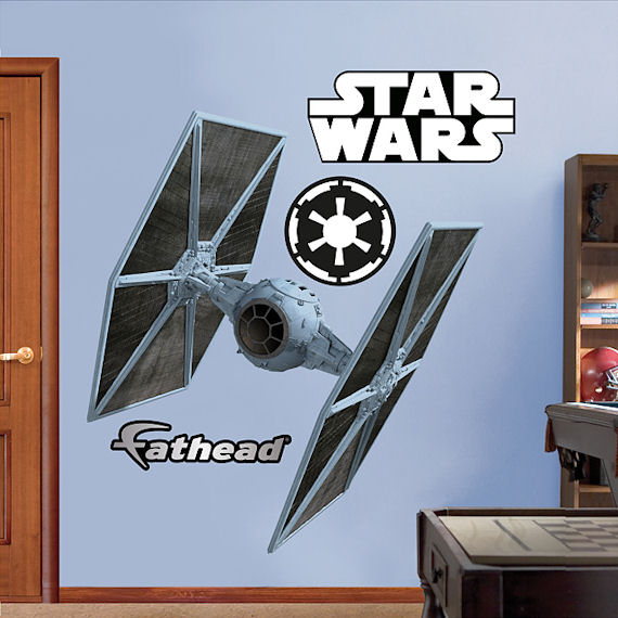 Fathead Tie Fighter Wall Graphic - Wall Sticker Outlet
