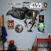 Fathead Star Wars General Grievous Wall Graphic