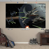 Fathead Star Wars Battle of Endor Wall Mural