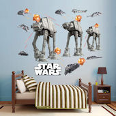 Fathead Star Wars Battle of Hoth Collection Decals
