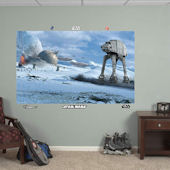 Fathead Star Wars Battle of Hoth Wall Mural
