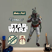 Fathead Star Wars Boba Fett Wall Graphic