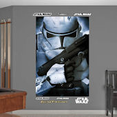 Fathead Star Wars Clone Tropper Wall Mural
