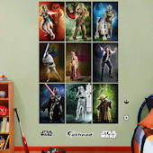 Fathead Star Wars Compositions Mural