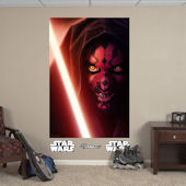 Fathead Star Wars Darth Maul Wall Mural
