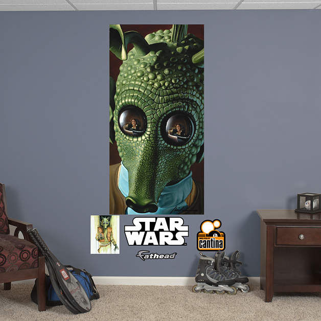 Fathead Star Wars Greedo Wall Mural - Wall Sticker Outlet