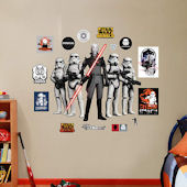 Fathead Star Wars The Inquisitor and Stormtroopers