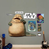 Fathead Star Wars Jabba the Hut Wall Graphic