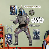 Fathead Star Wars Jango Fett Wall Graphic