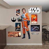 Fathead Star Wars Luke Sywalker Rebel Pilot Decal