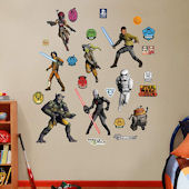 Fathead Star Wars Rebel Collection Decals