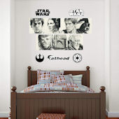 Fathead Star Wars Sketches Mural