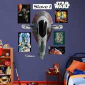 Fathead Star Wars Slave 1 Wall Decal